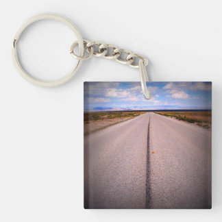 Print Square Phone Photo Keychain