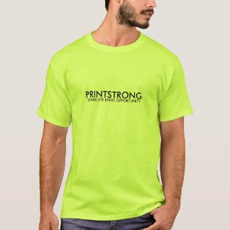 Print Strong Green T-Shirt