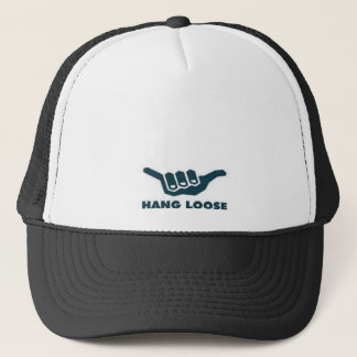 Printed cap trucker hat