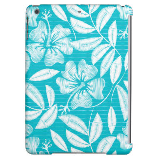 Printed embroidery pin stripes iPad air cover