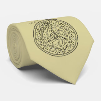 Printed Front and Back Fly Reel Fly Fishing Tie
