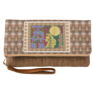 Printed on Belgian linen. Choice of 6 colors Clutch