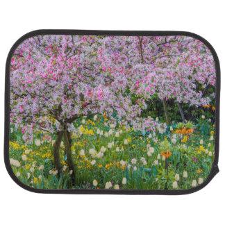 Printemps dans le jardin de Claude Monet Tapis De Voiture