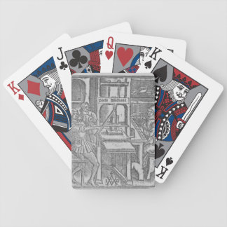 Printing Press Bicycle Playing Cards