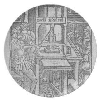 Printing Press Plate