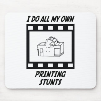 Printing Stunts Mouse Mat