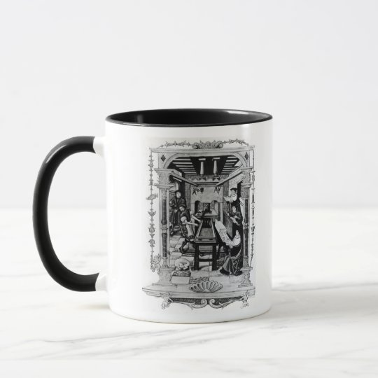 Printing workshop mug