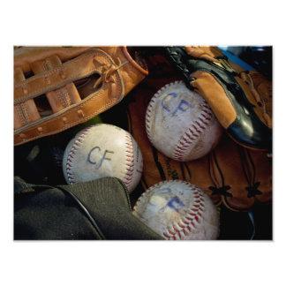 "PRINTS - ""Baseball in Clark Fork"""