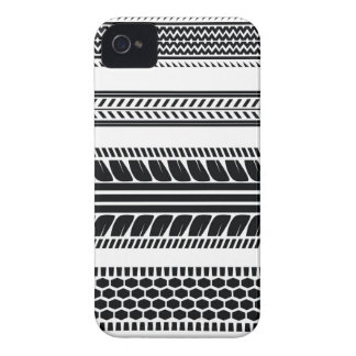 prints tire iPhone 4 Case-Mate case