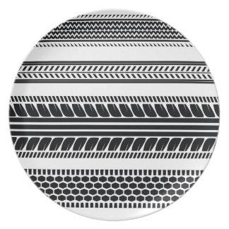prints tire plate
