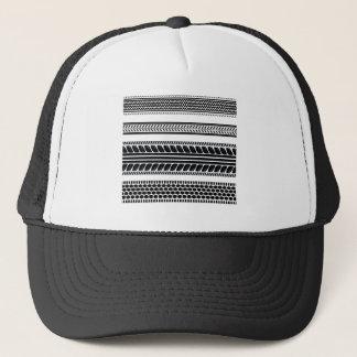 prints tire trucker hat