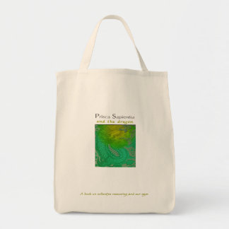 Prisca Sapientia and Dragons Tote Bag