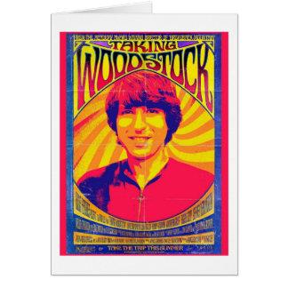 Prise de la carte de voeux de Woodstock