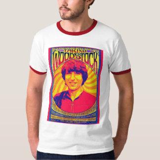 Prise de la pièce en t de sonnerie de Woodstock T-shirt