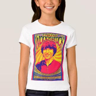 Prise de la pièce en t d'enfant de Woodstock T-shirt
