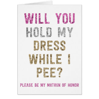 Prise de scintillement ma robe tandis que je fais carte de correspondance