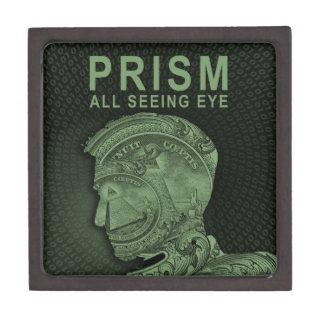PRISM - All Seeing Eye - Green Premium Keepsake Box