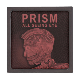 PRISM - All Seeing Eye - Red Premium Jewelry Boxes