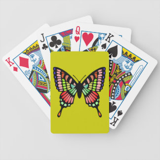 Prism Butterfly Bicycle Playing Cards