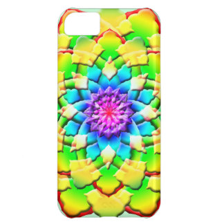 Prism Flower Mandala Cover For iPhone 5C