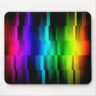 Prism Fractions Mouse Pad