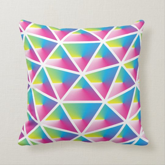 Prism Heart Pillow