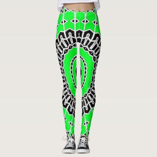 Prism Mandala ( Green ) Leggings