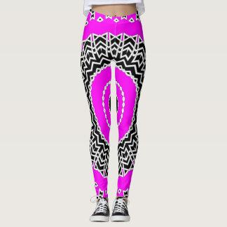 Prism Mandala ( Pink ) Leggings