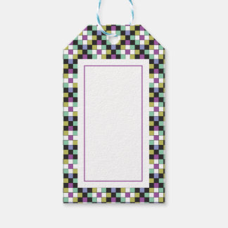 Prism Quilt Pattern Gift Tag