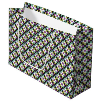 Prism Quilt Pattern Large Gift Bag