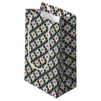 Prism Quilt Pattern Small Gift Bag