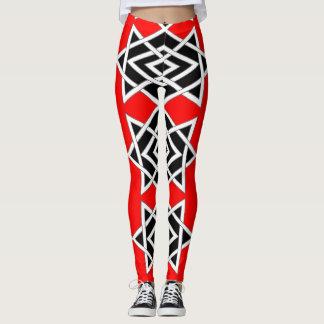Prism ( Red ) Leggings