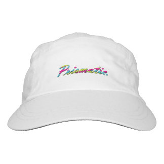 Prismatic apparel basic white hat