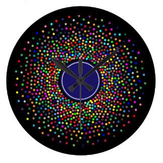 Prismatic Expanse: Wall Clock