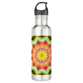 Prismatic Eye Mandala 710 Ml Water Bottle