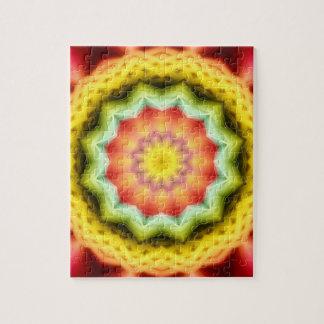 Prismatic Eye Mandala Jigsaw Puzzle