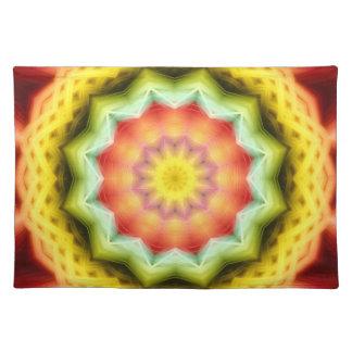 Prismatic Eye Mandala Placemat
