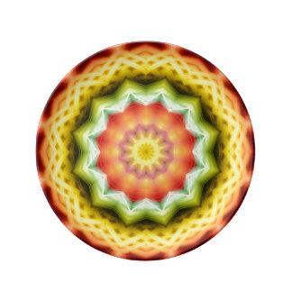 Prismatic Eye Mandala Plate