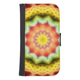 Prismatic Eye Mandala Samsung S4 Wallet Case