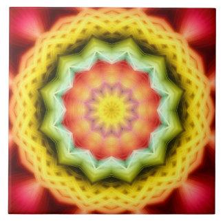 Prismatic Eye Mandala Tile