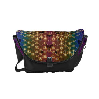 Prismatic Luciferin - Messenger Bag by Vibrata