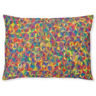 Prismatic Rainbow Pet Bed