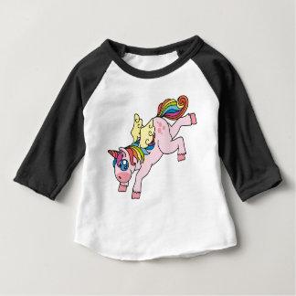 Prismatic Winged Unicorn Baby T-Shirt