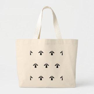 Prison Arrows Large Tote Bag
