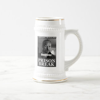 Prison Break Beer Stein