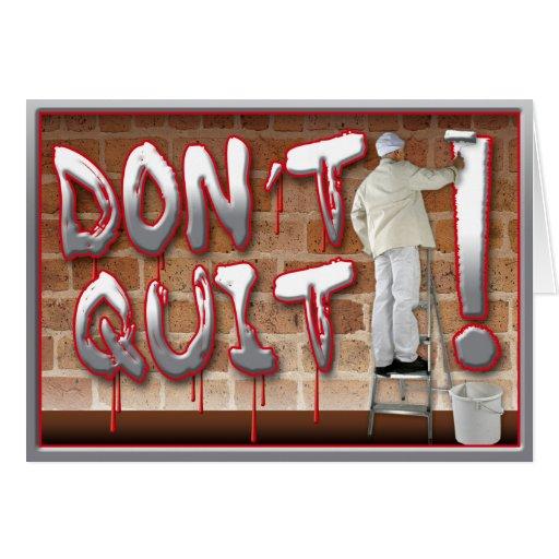 Prison Cards - Don't Quit