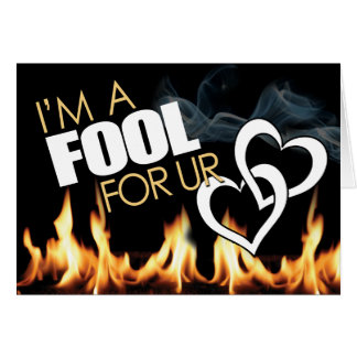 Prison Cards - Fool 4 LUV