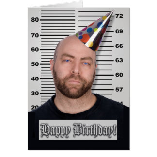 Prison Cards - Inmate B-Day
