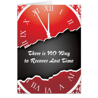 Prison Cards - Recovering Time