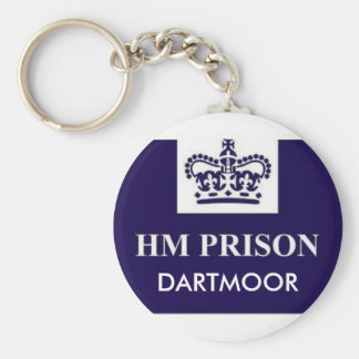 Prison, DARTMOOR Keychain
